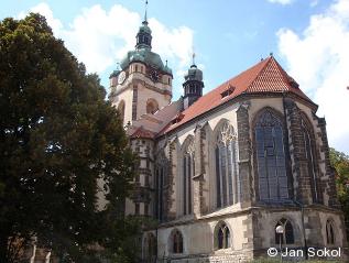 Kostel sv. Petra a Pavla v Mělníce